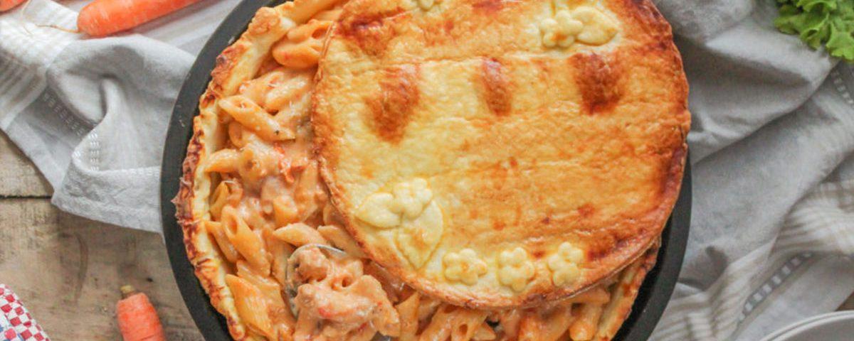 Pasta in crosta di brisee stuffer